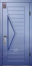 Двери входные серии ИНТЕР / Комплектация №3 [MOTTURA] / АССОЛЬ / Сизый перламутр