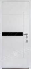 Двери входные серии ИНТЕР / Комплектация №3 [MOTTURA] / ЭЛИС / Белый супермат WHITE_02