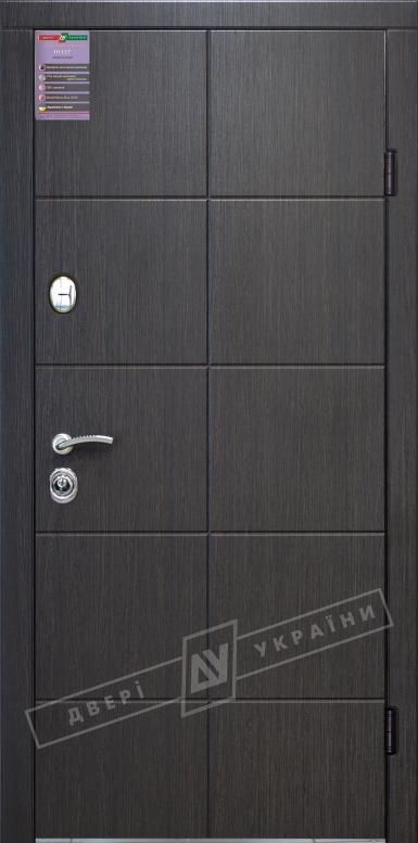 Двери входные серии ИНТЕР / Комплектация №1 [KALE] / КЕЙС / Венге