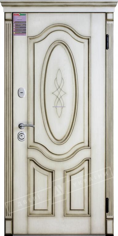 Двери входные серии ИНТЕР / Комплектация №1 [KALE] / ЛЕДИ / Дуб ценамон OAK 1101-07