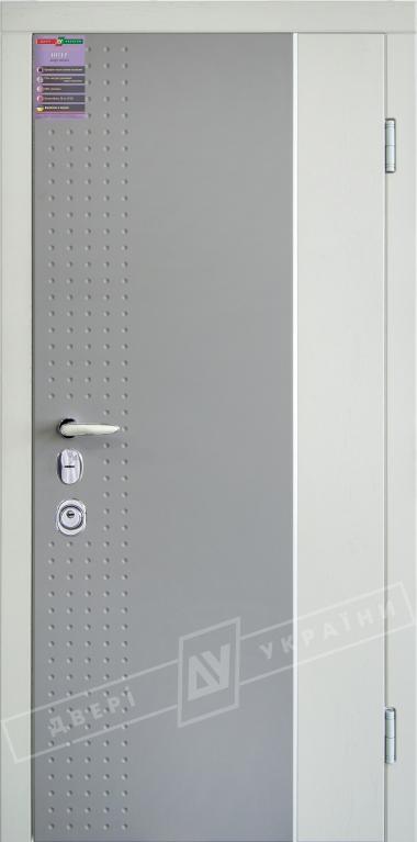 Двери входные серии ИНТЕР / Комплектация №3 [MOTTURA] / ЛЕОН 2 / Тёмный хаки софттач HRB6303UD B10-0,35 / Какао текстура супермат САСАО-J3