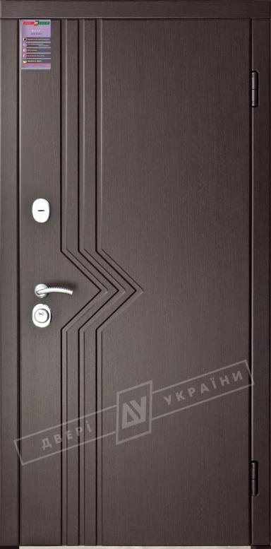 Двери входные серии ИНТЕР / Комплектация №1 [KALE] / МАРИАМ / Венге южное МВР 1998-10