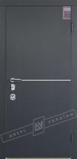 Двери входные серии ИНТЕР / Комплектация №3 [MOTTURA] / МОНАКО / Антрацит ANT01-105C
