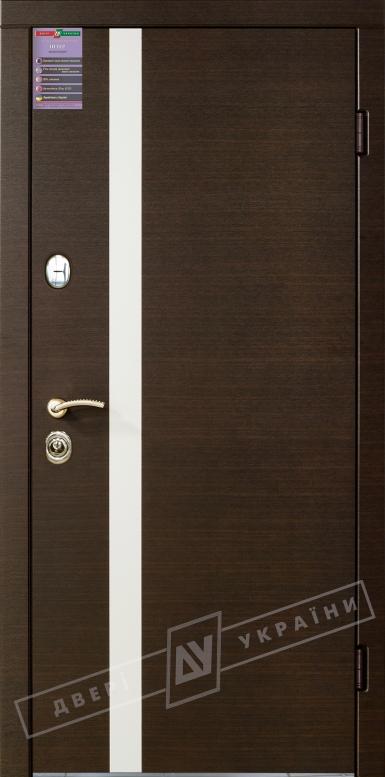 Двери входные серии ИНТЕР / Комплектация №1 [KALE] / ПАЛЕРМО / Венге горизонт тёмное HORI-DARK