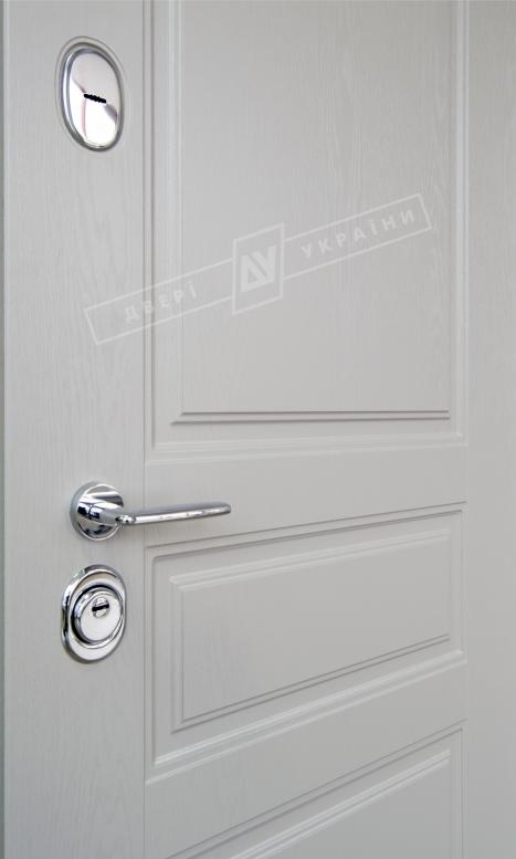 Двери входные серии ИНТЕР / Комплектация №1 [KALE] / ПРОВАНС 3 / Какао текстура супермат САСАО-J3