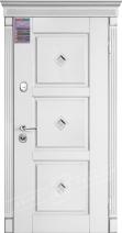 Двери входные серии ИНТЕР / Комплектация №1 [KALE] / ПРОВАНС 5 Кристал / Белый супермат WHITE_02