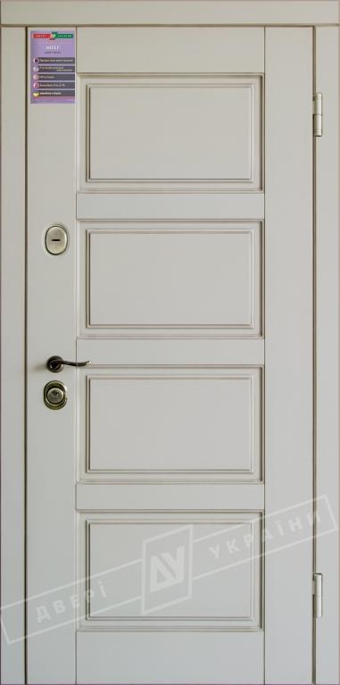 Двери входные серии ИНТЕР / Комплектация №1 [KALE] / ПРОВАНС 6 / Макиато супермат MAKIATO-02