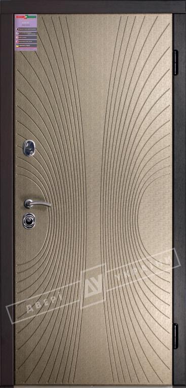 Двери входные серии ИНТЕР / Комплектация №1 [KALE] / СОФИ / Титановая нить