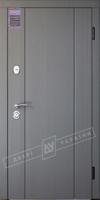 Двери входные серии ИНТЕР / Комплектация №1 [KALE] / СТЕЛЛА / Реалвуд графит 77527 MCN