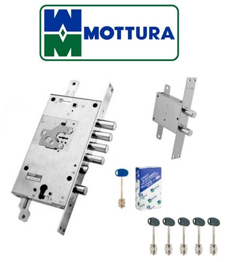 № 4 MOTTURA + my key двухсистемный замок + девиатор [ 54J797 + 90.086 ]