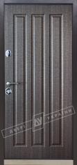 """Двері вхідні внутрішні""""Білоруський стандарт 2/2"""" 2040*880мм,модель Флеш-03 Н,праві"""