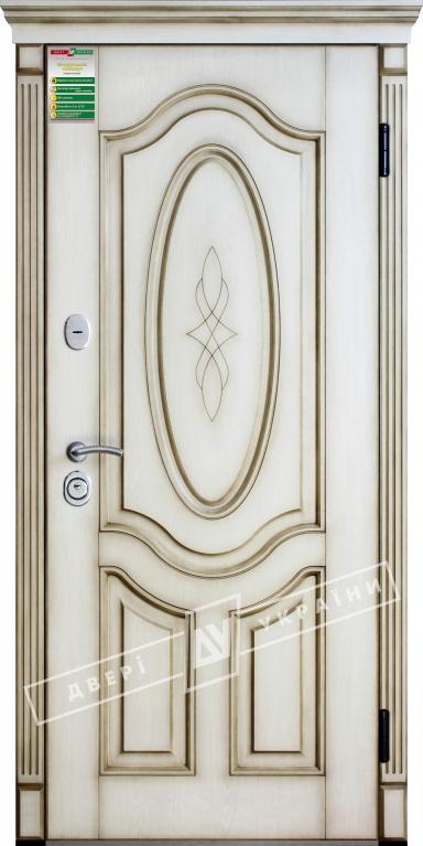 Двері вхідні внутрішніБілоруський стандарт212040*880мм,Леді Дуб Ценамон 1101-07.Тер.+П,праві