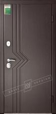 Двери входные серии БС / Комплектация №1 [RICCARDI] / МАРИАМ / Венге южное МВР 1998-10