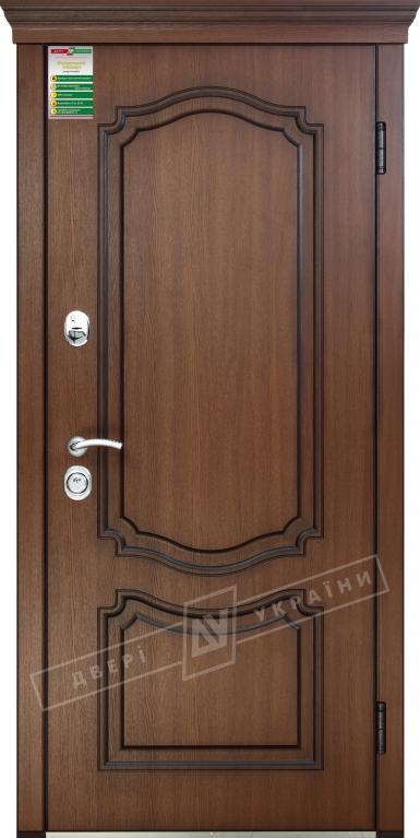 Двері вхідні внутрішніБілоруський стандарт212040*880мм,Мілена Горіх Гварнері VTF 5013.+П,праві