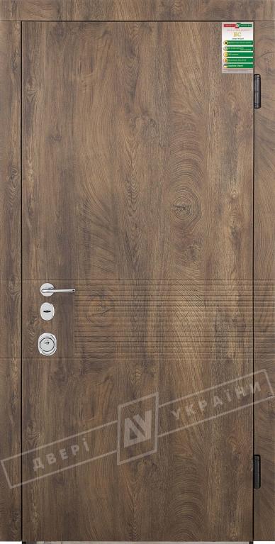 Двери входные серии БС 3 / Комплектация №4 [MOTTURA] / ПАНАКОТА / Спил дерева коньячный МВР9187-6 / Белый супермат WHITE_02