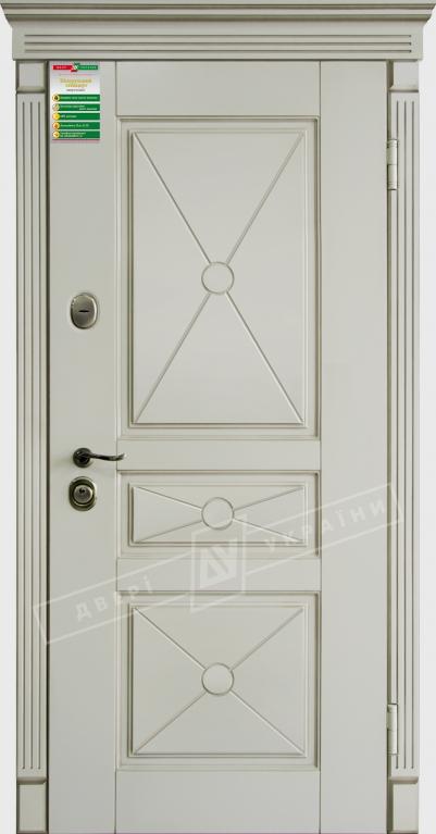 Двері вхід. внутБілоруський станд222040*880мм,Прованс 3 Декор Макіато супермат 02 Тер+П.,праві
