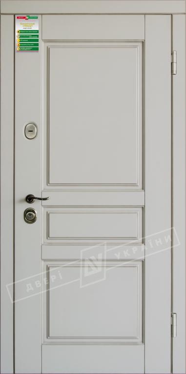 """Двері вхід. внутр """"БС"""" 2/2""""2040*880мм,""""Прованс 3""""макіато супермат 02 Тер +П.,праві"""