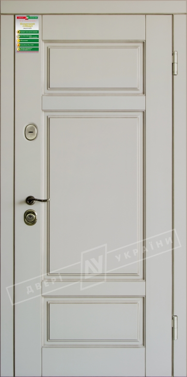 Двери входные серии БС / Комплектация №1 [RICCARDI] / ПРОВАНС 4 / Макиато супермат MAKIATO-02 + ПАТИНА