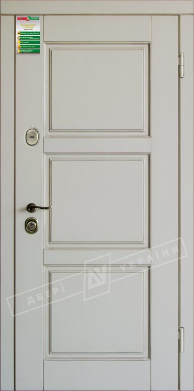 Двери входные серии БС / Комплектация №1 [RICCARDI] / ПРОВАНС 5 / Макиато супермат MAKIATO-02 + ПАТИНА