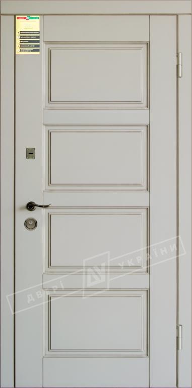 Двери входные серии СИТИ / Комплектация №1 [RICCARDI] / ПРОВАНС 6 / Макиато супермат MAKIATO-02 + ПАТИНА