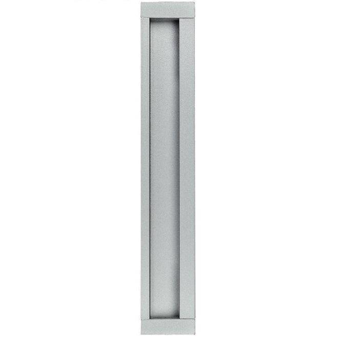 """Ручка для раздвижных дверей """"HAFELE"""" прямоугольная, [серебро], [207 x 34]"""
