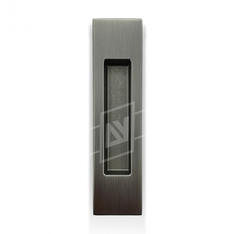 """Ручка для раздвижных дверей """"MVM"""" прямоугольная, [матовый антрацит], [150 x 37]"""