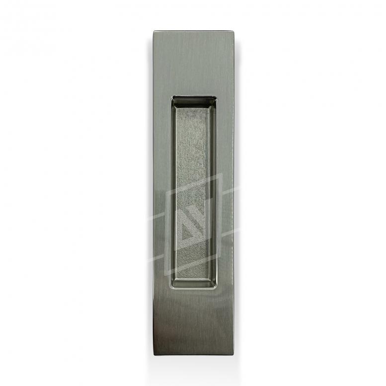 """Ручка для раздвижных дверей """"MVM"""" прямоугольная, [матовый никель], [150 x 37]"""