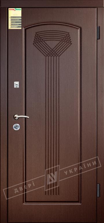 Двері вхідні внутрішні Сіті 11 2050*860мм, модель Салют венге южне МВР1998-10, праві.