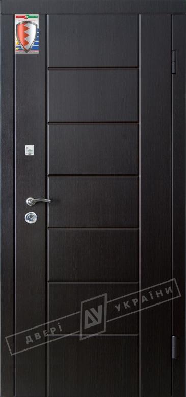 """Двери входные серии """"ЩИТ"""" / Комплектация №1 [BARRERA + RICCARDI] / Модель: НИКА М / Венге южный"""