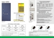 Двери входные серии СИТИ / Комплектация №1 [RICCARDI] / ПРОВАНС 5 Кристал / Белый супермат WHITE_02