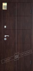 Двери входные серии СИТИ / Комплектация №1 [RICCARDI] / КЕЙС / Венге горизонт тёмное HORI-DARK
