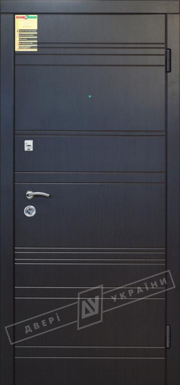 Двери входные серии СИТИ / Комплектация №1 [RICCARDI] / ЛАЙН / Венге южное МВР 1998-10