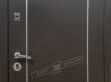 Двери входные серии СИТИ / Комплектация №1 [RICCARDI] / МИЛАН / Венге горизонт тёмное HORI-DARK