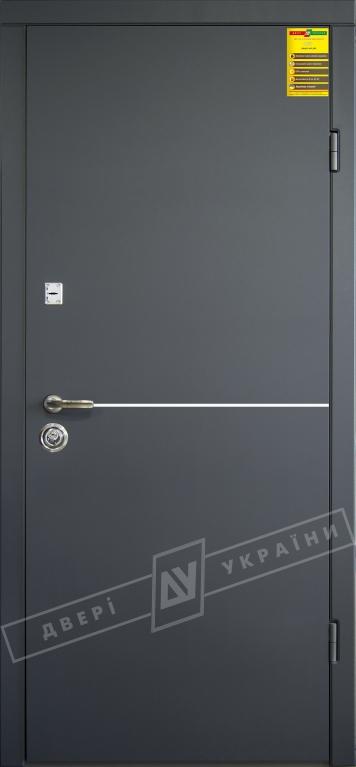 Двери входные серии СИТИ / Комплектация №1 [RICCARDI] / МОНАКО / Антрацит ANT01-105C