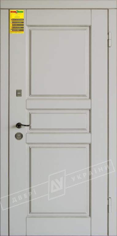 Двери входные серии СИТИ / Комплектация №1 [RICCARDI] / ПРОВАНС 7 / Макиато супермат MAKIATO-02 + ПАТИНА