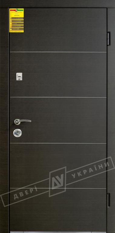 Двери входные серии СИТИ / Комплектация №1 [RICCARDI] / ТУРИН / Венге горизонт тёмное HORI-DARK