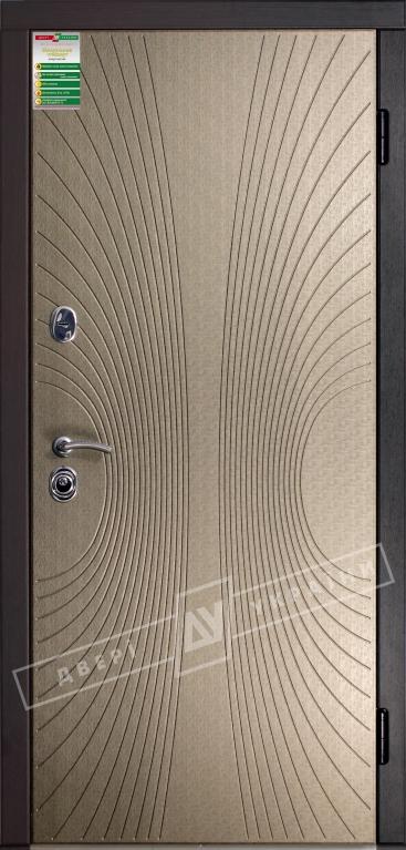 """Двері вхід внутр""""Білор. станд 2/1""""2040*880мм,""""Софі"""",бронза мат 903-S7P.Пол,,праві"""