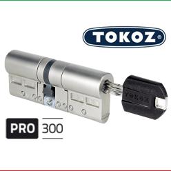 "Цилиндр ""TOKOZ"" PRO 300 90mm (40*50) [ ключ / ключ ]"