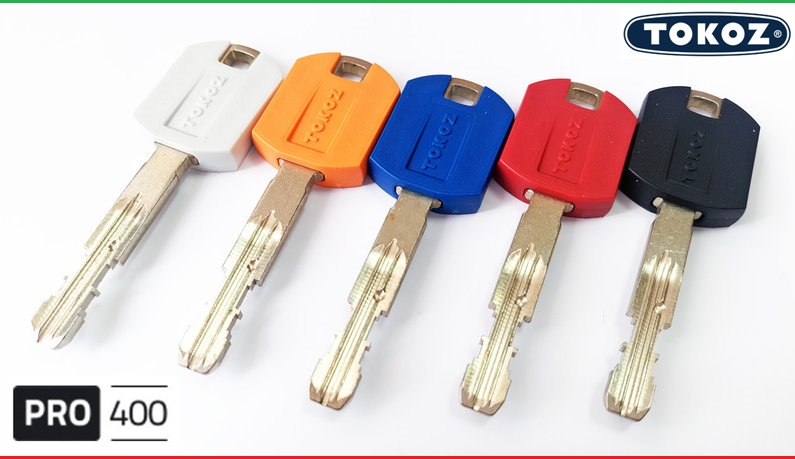"""Цилиндр """"TOKOZ"""" PRO 300 125mm (60*65T) [ ключ / тумблер ]"""