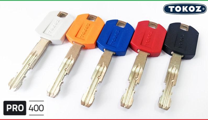 """Цилиндр """"TOKOZ"""" PRO 300 95mm (30*65T) [ ключ / тумблер ]"""
