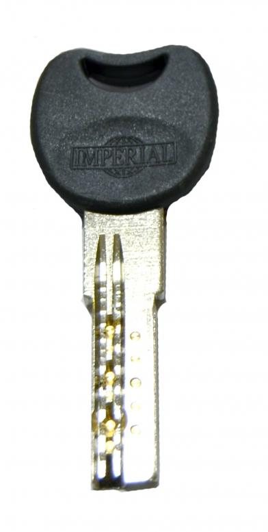 """Циліндр """"IMPERIAL"""" М35/35 ZСК, [ключ/тумблер], [сатин]"""
