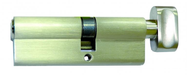 "Цилиндр ""Imperial"", М30/40 ZСК, ключ/тумблер, сатин"