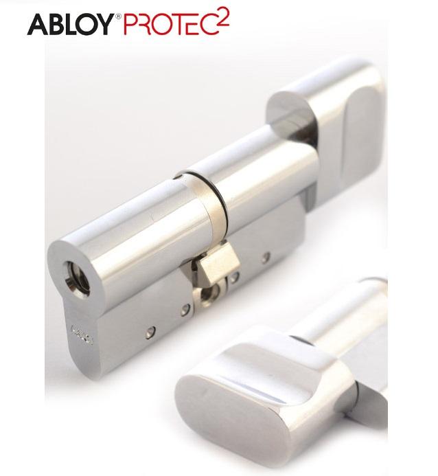 "Цилиндр ""ABLOY"" Protec2 CY323 [3 ключа] 92mm (51/41T) CR [ключ/тумблер]  [хром]"