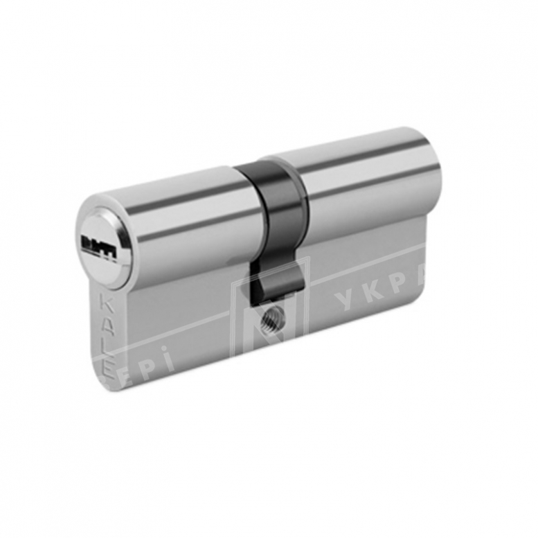 "Цилиндр ""KALE"" BNE 90 mm (50*40) [ключ/ключ] [никель]"