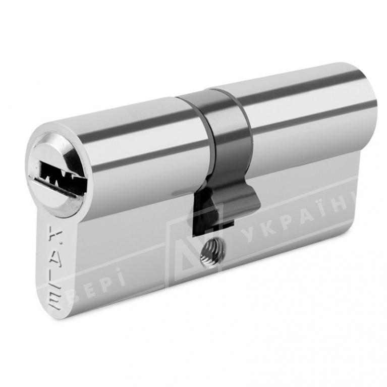 """Цилиндр """"KALE"""" 164 SNC 70 mm (35*35) [ключ/ключ] [никель]"""