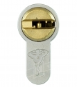"""Циліндр """"MUI-T-IOCK 7*7 Е75Т 40*35T, [ключ/тумблер], [золото]"""