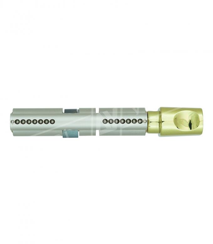 """Цилиндр """"MUI-T-IOCK 7*7 Е90Т 50*40T, [ключ/тумблер], [золото]"""
