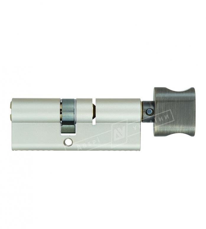 """Цилиндр """"MUI-T-IOCK"""" Integrator Е90Т 50*40T, [ключ/тумблер], [бронза]"""