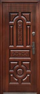 """Двери входные ТМ """"Двери Оптом"""" [ TP-C 150 + ] / АВТОЛАК / для НАРУЖНОГО ПРИМЕНЕНИЯ / 2050*860-960 / утеплённые МИНЕРАЛЬНОЙ ВАТОЙ"""