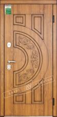 Двери входные серии БС / Комплектация №1 [RICCARDI] / ЗЛАТА / Золотой дуб DE-921-55-14